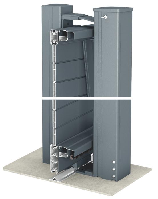 N 598 choisir un portail normes et solutions for Portail electrique 4m